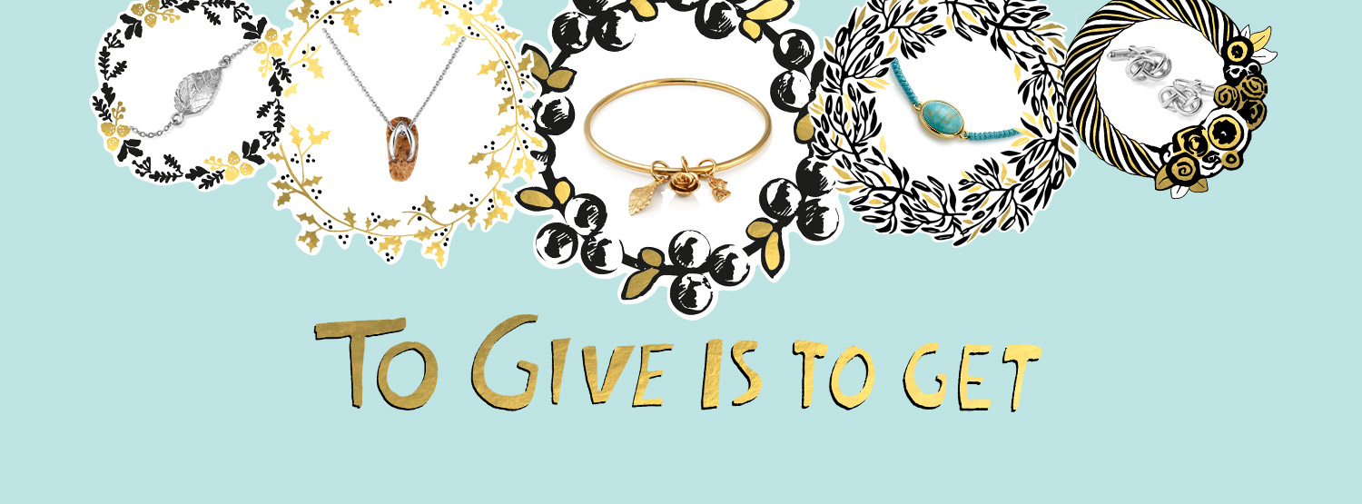 To give is to get