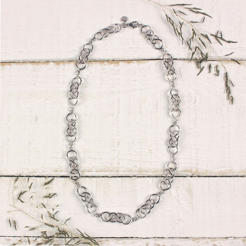 Demelza-silver-necklace