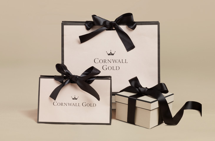 Cornwall Gold packaging